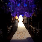 Brides Walk Down the Aisle Angel Orensanz Wedding NYC