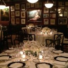 Classic White Centerpieces Private Members Club NYC