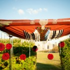 Custom Chuppah Design Flowers for Chuppah NYC Outdoor Wedding Ceremony