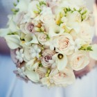 Ivory and Cream Bridal Bouquet NYC Wedding