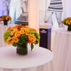 New York Knicks Cocktail Table Flower Arrangements