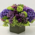 Spring Flowers Purple Lilac Viburnum Blank Slate Events Florists