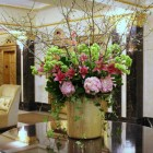 Weekly Flowers for Residential Lobby NYC